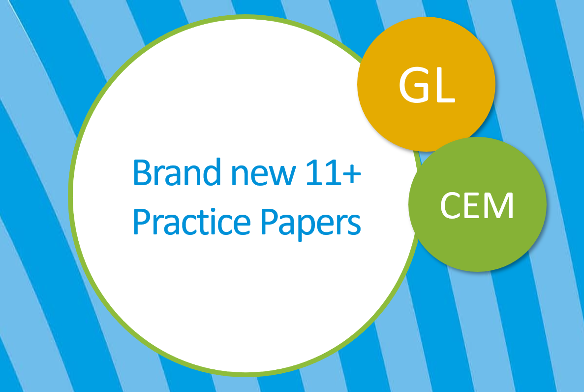 New 11+ practice papers