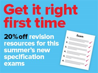 20% off selected revision resources
