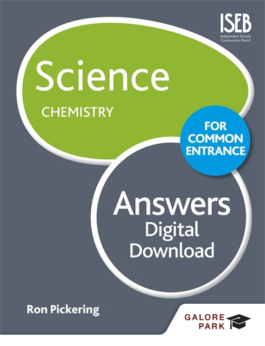 Science for Common Entrance: Chemistry Answers PDF: Galore Park